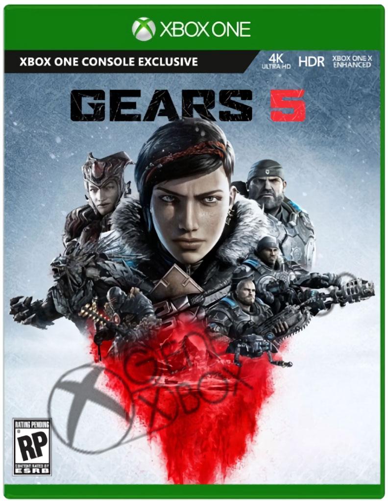 Διέρρευσε το Cover του Gears 5 και η ημερομηνία κυκλοφορίας;