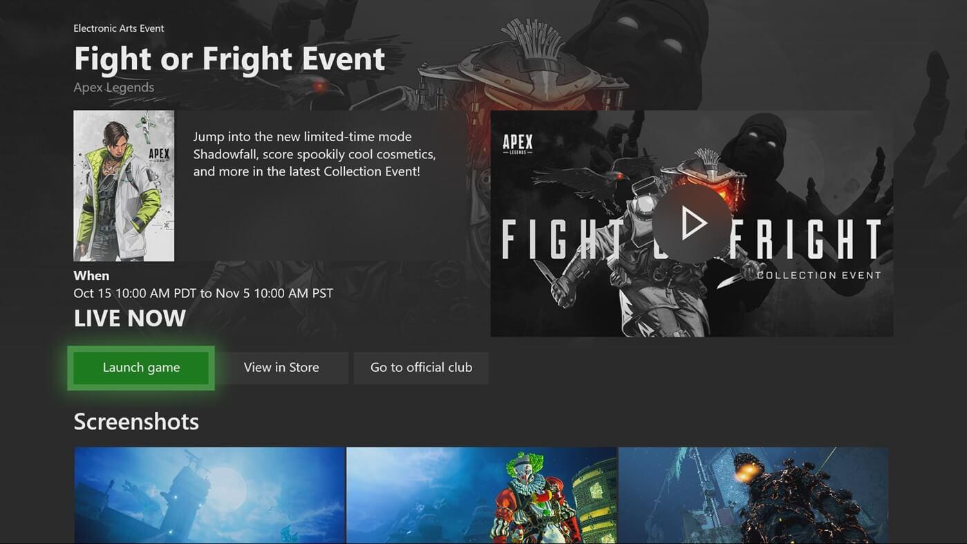 H νέα εφαρμογή του XBOX One που θα σας ενημερώνει για όλα τα Events των αγαπημένων σας παιχνιδιών!