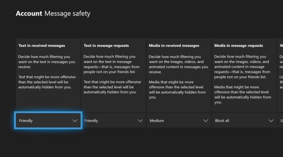 Νέες ρυθμίσεις Ασφαλείας για τα Μηνύματα στο Xbox Live