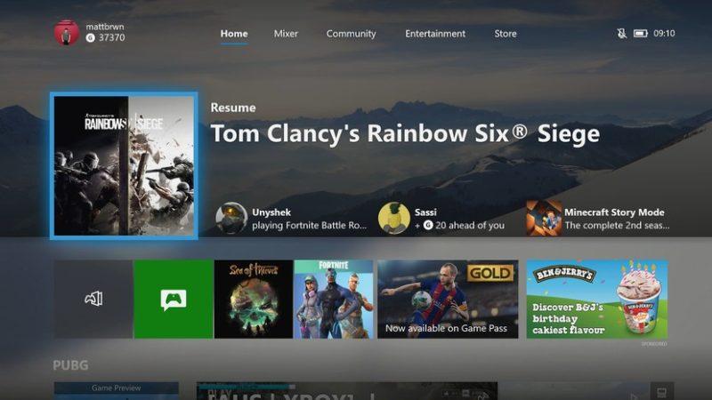 Η Microsoft ξεκινάει την δοκιμαστική διάθεση 2 νέων Dashboard για το Xbox One