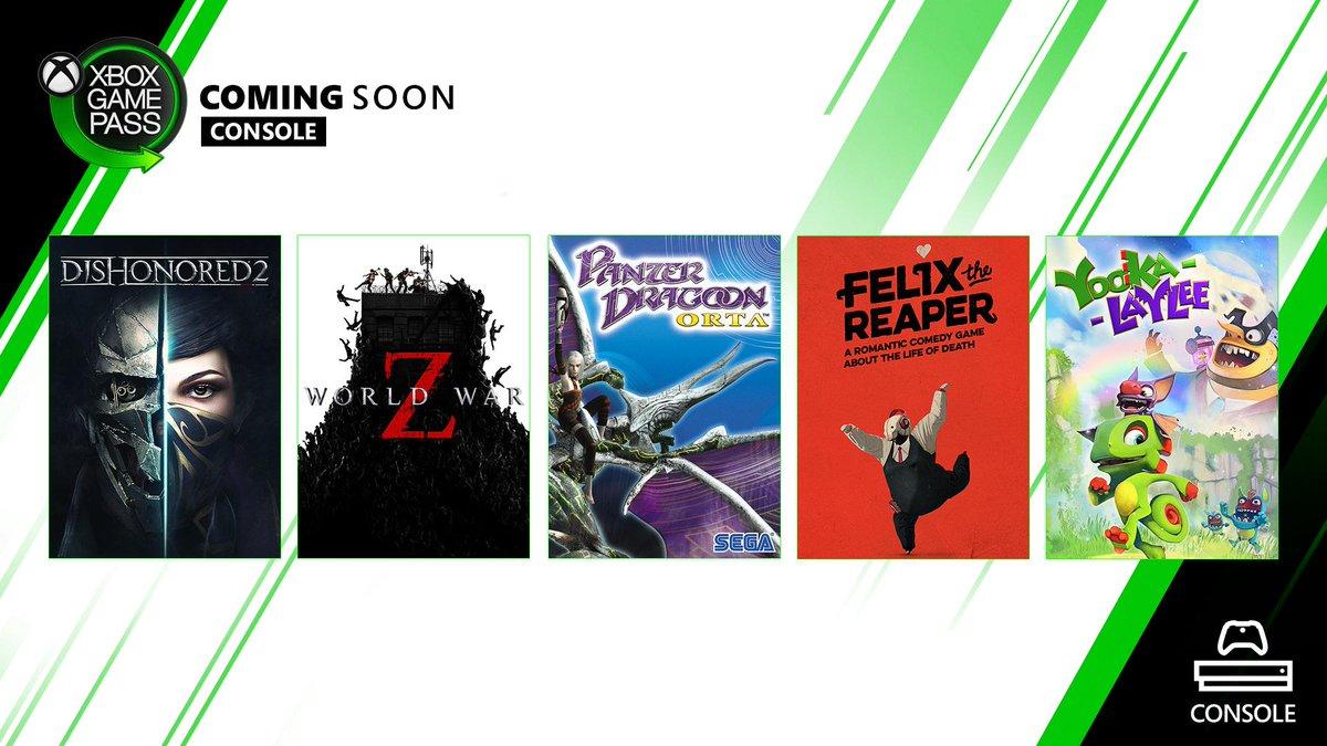 Ανακοινώθηκαν νέες προσθήκες για το XBOX Game Pass