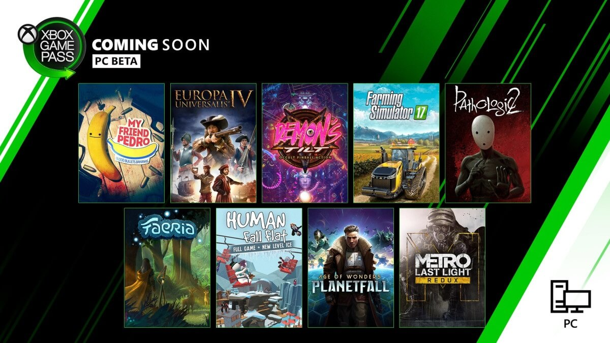 Ανακοινώθηκαν οι νέοι τίτλοι που έρχονται στο XBOX Game Pass για PC