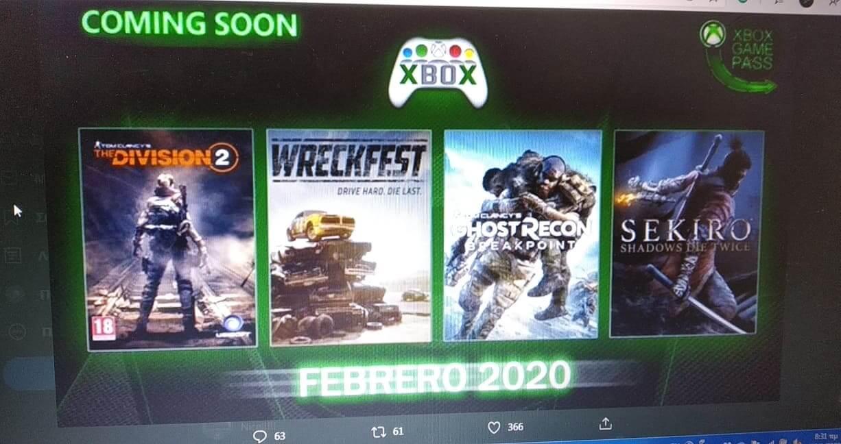 [Φήμη] Έρχονται τρομερές προσθήκες τον Φεβρουάριο στο XBOX Game Pass!