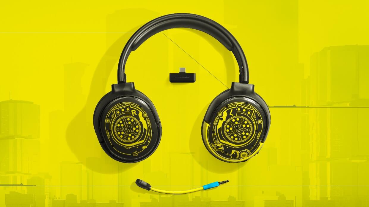 Η SteelSeries παρουσιάζει τη νέα Limited Edition συλλογή με Cyberpunk 2077 Headsets