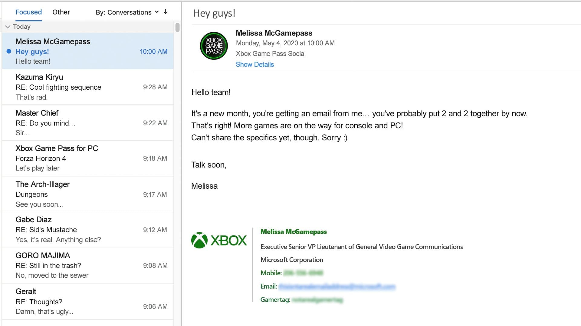 Xbox Game Pass: Νέοι τίτλοι αναμένετε να ανακοινωθούν στο Inside XBOX!