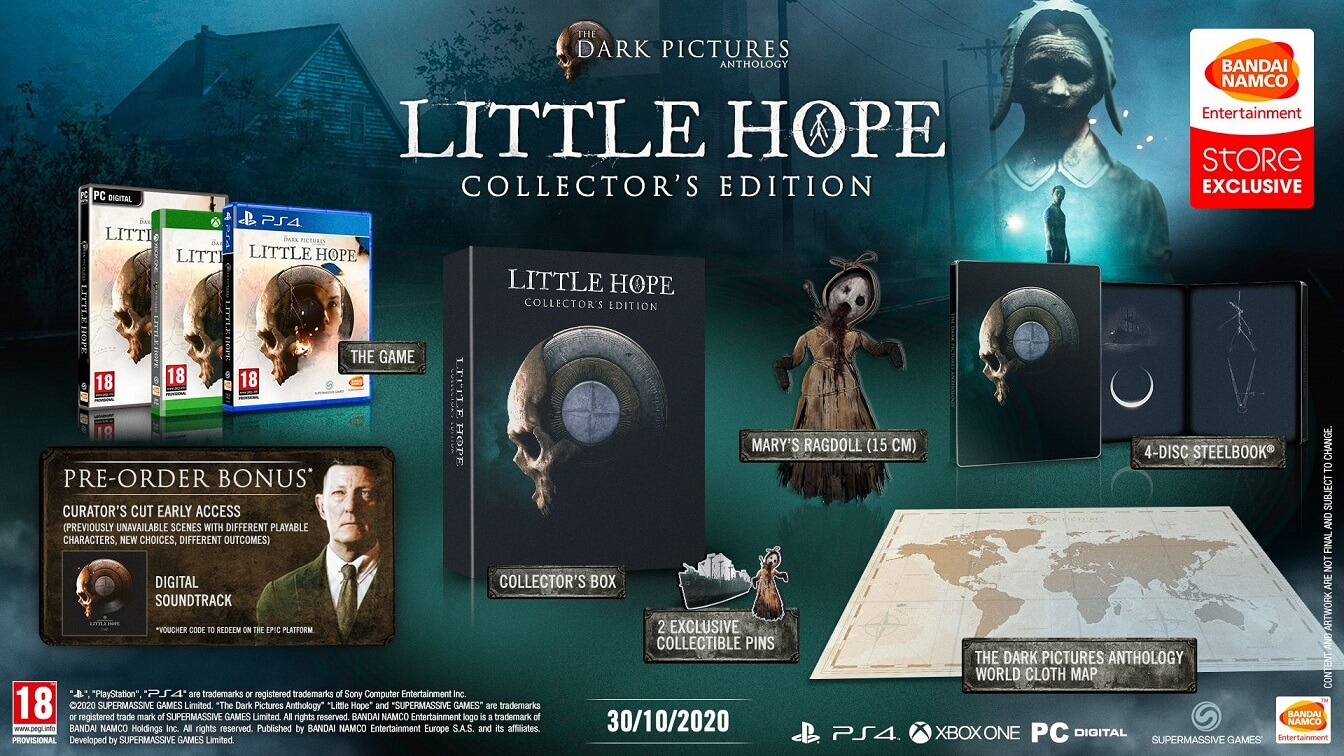 Το The Dark Pictures Anthology: Little Hope έρχεται τον Οκτώβριο στο XBOX One!
