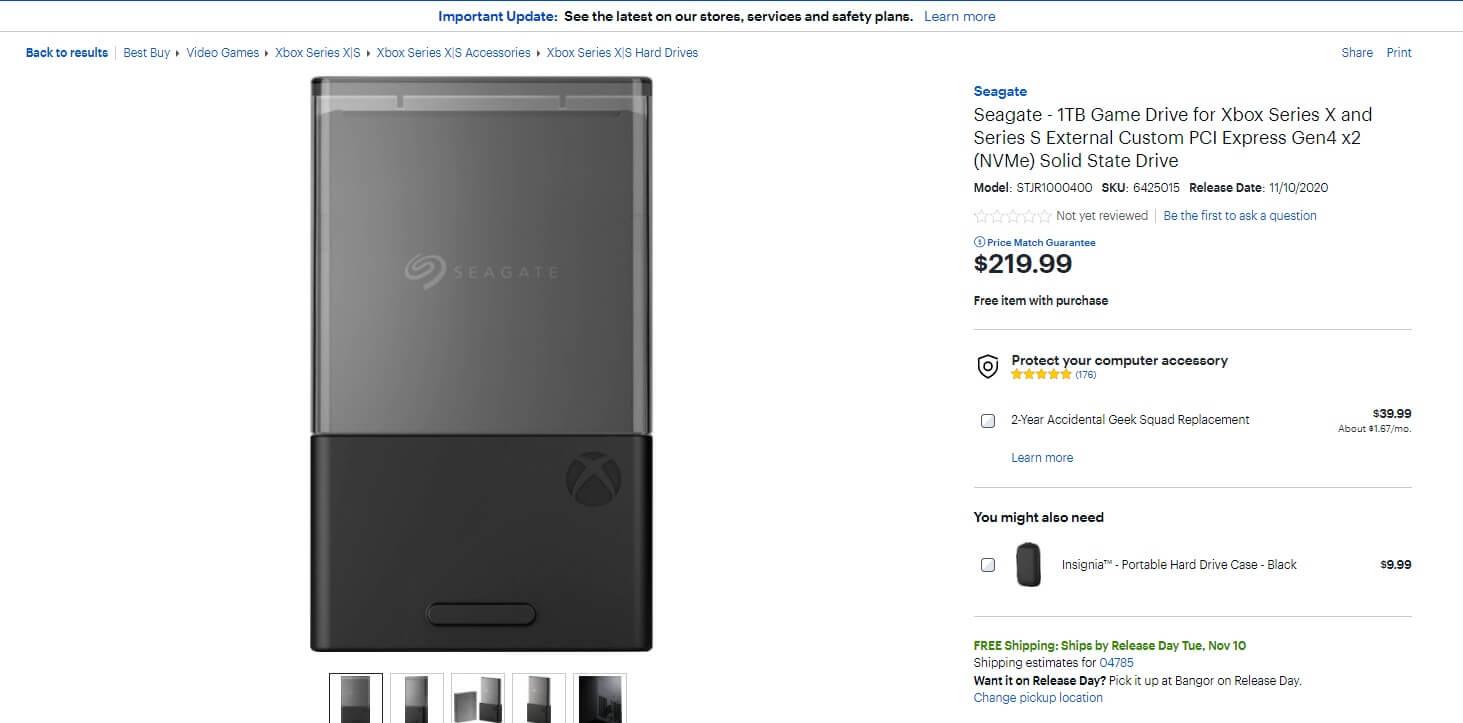 Αποκαλύφθηκε η τιμή της επέκτασης SSD για τα XBOX Series X/S