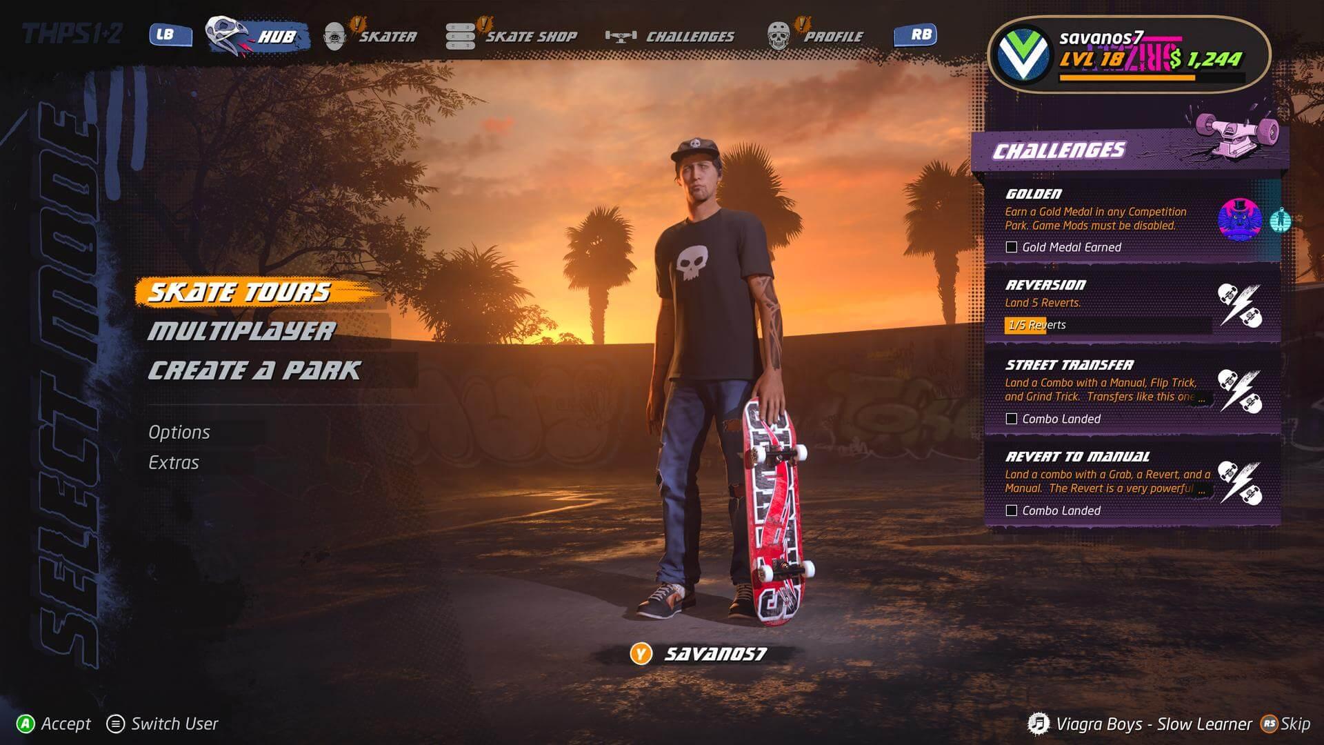 Tony Hawks Pro Skater 1+2 - Review