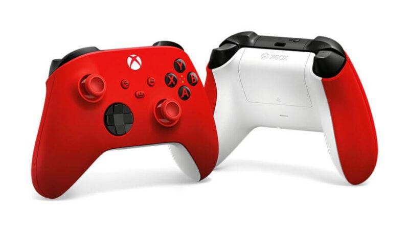 Η Microsoft παρουσιάζει το νέο πανέμορφο Pulse Red Controller για τα XBOX Series X S