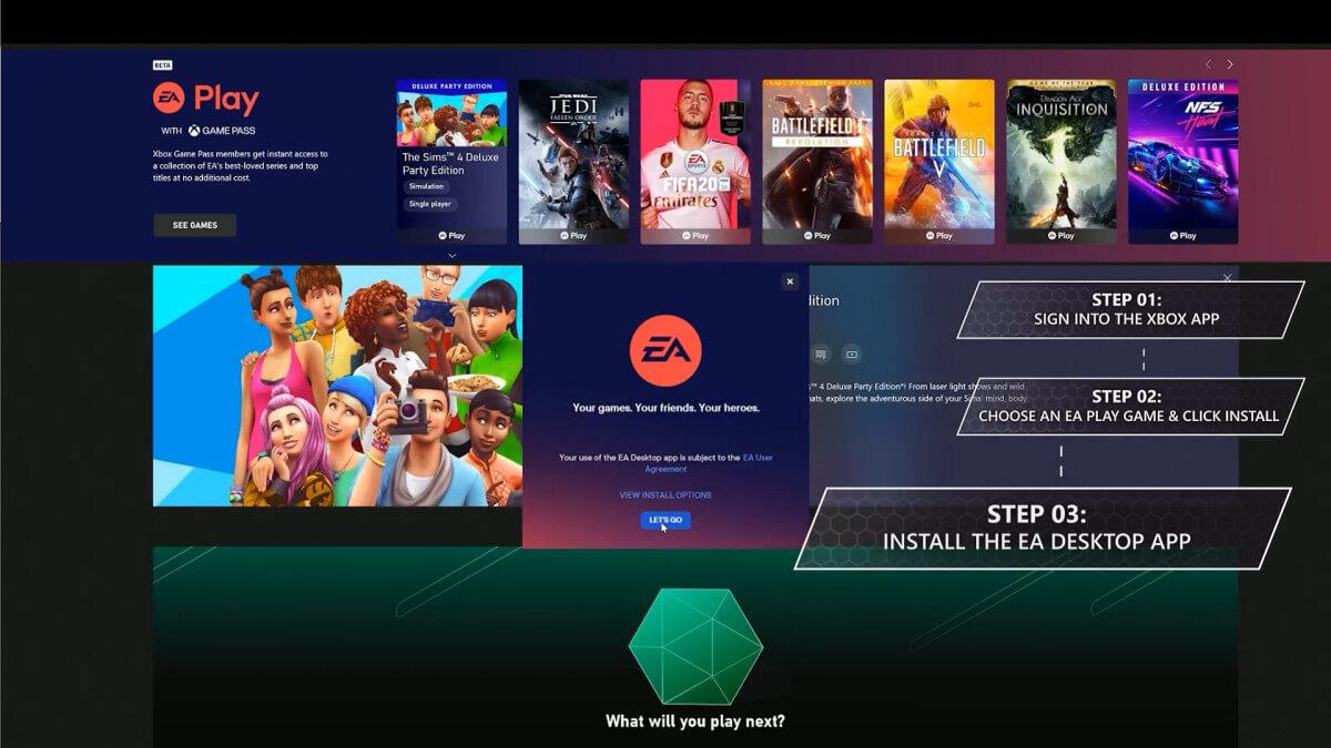 Το EA Play προστίθεται αύριο στο XBOX Game Pass Ultimate του PC
