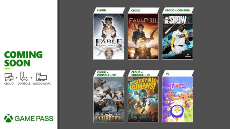 Αυτοί οι τίτλοι έρχονται στο XBOX Game Pass τις επόμενες ημέρες