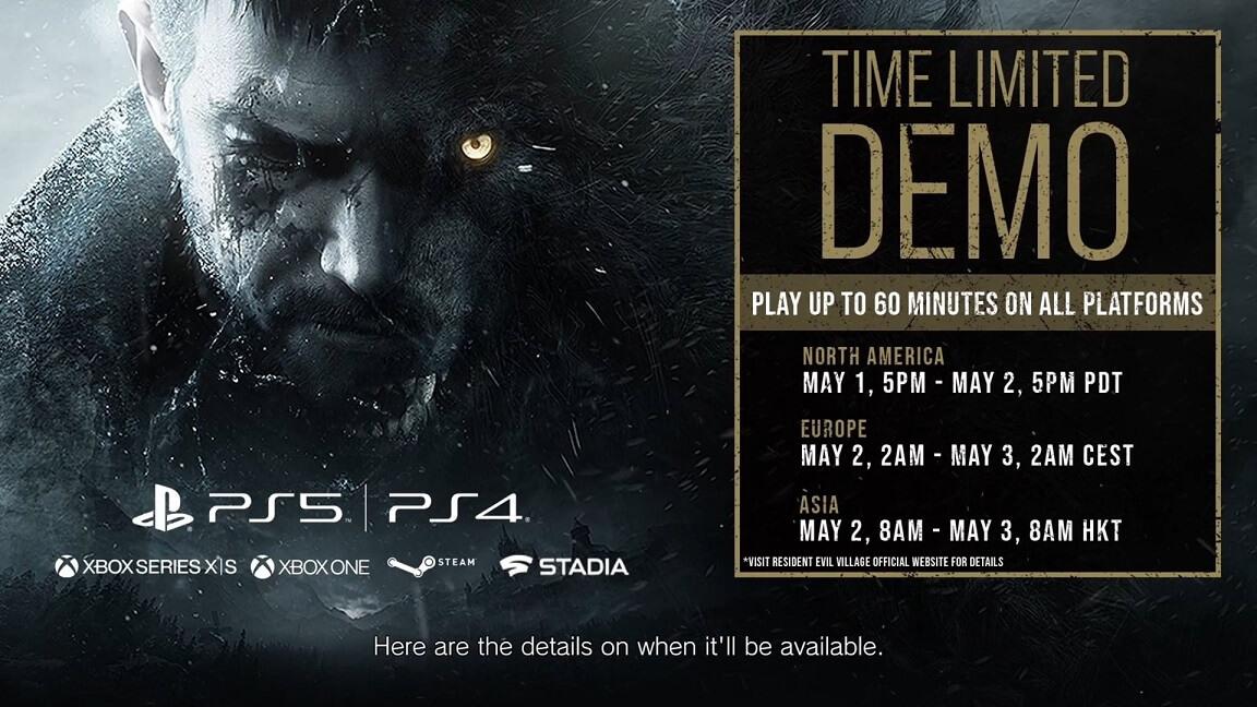 Το Demo του Resident Evil Village έρχεται την 1 Μάϊου στo ΧΒΟΧ και τα PC