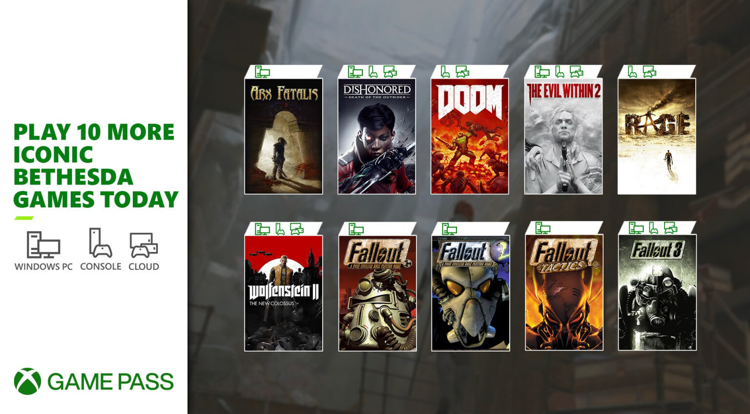 12 νέοι τίτλοι διαθέσιμοι από σήμερα στο XBOX Game Pass για κονσόλα και PC