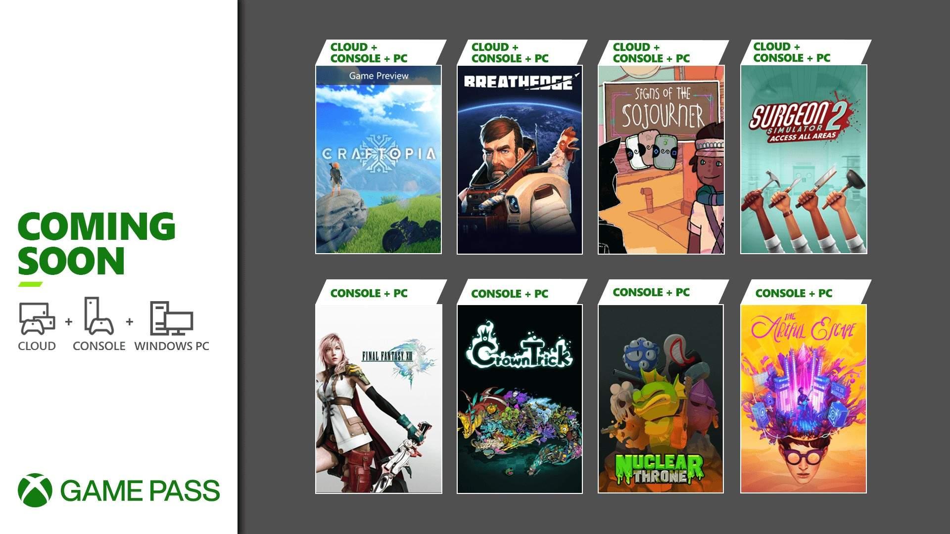 Νέα παιχνίδια έρχονται στο XBOX Game Pass το Σεπτέμβριο