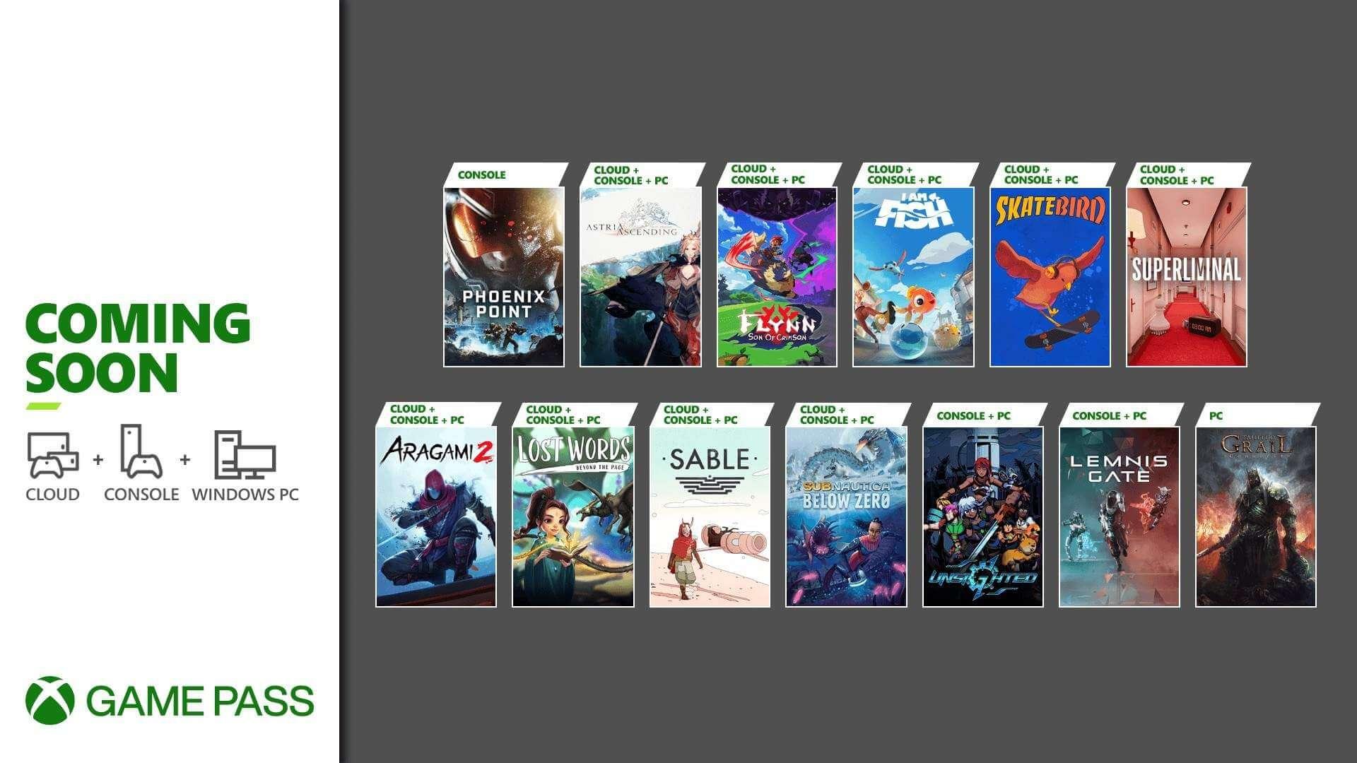 Ανακοινωθήκαν οι νέες προσθήκες του XBOX Game Pass για το 2ο μισό του Σεπτεμβρίου