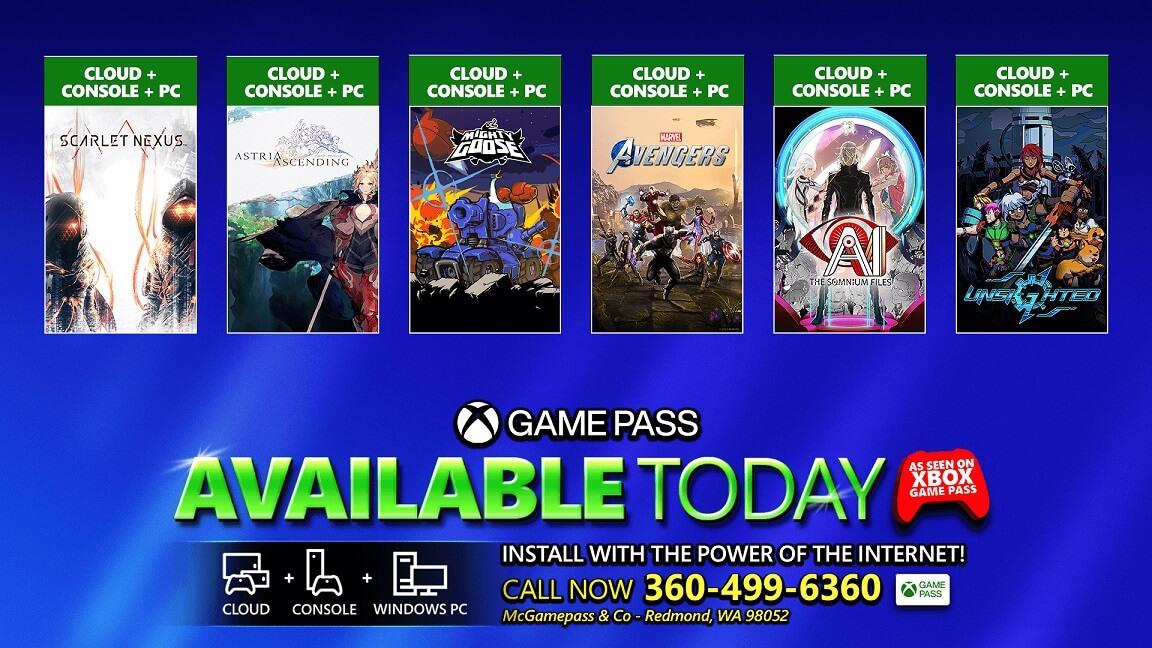 6 νέοι τίτλοι είναι άμεσα διαθέσιμοι στο XBOX Game Pass για κονσόλα και PC